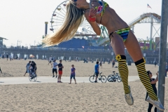 Venice Beach Ring Girl