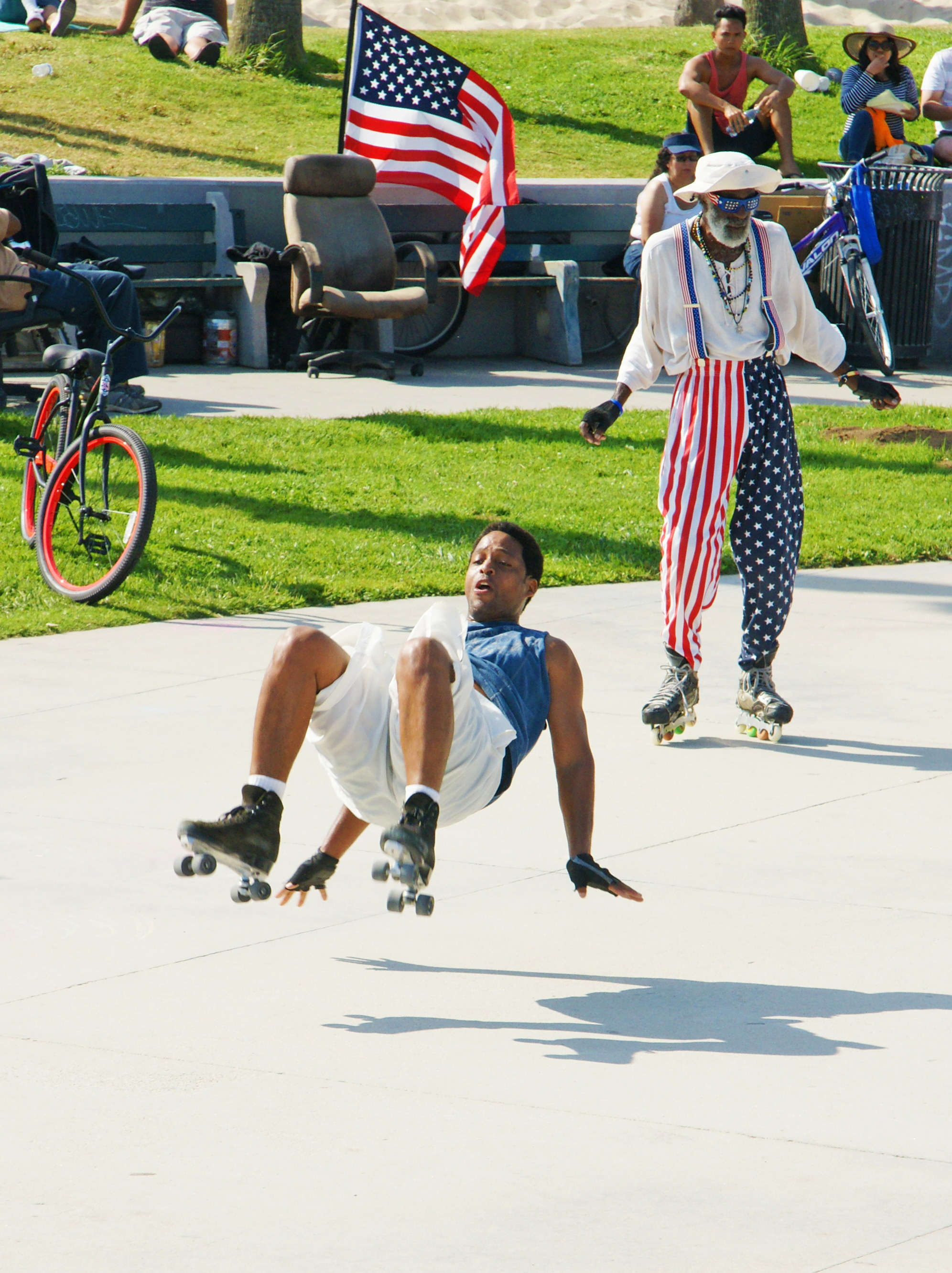 Venice Beach Skate Dancers
