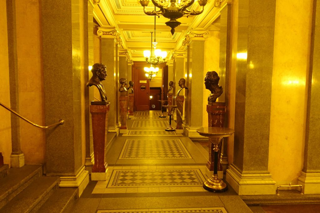 The Hallway of Heads.