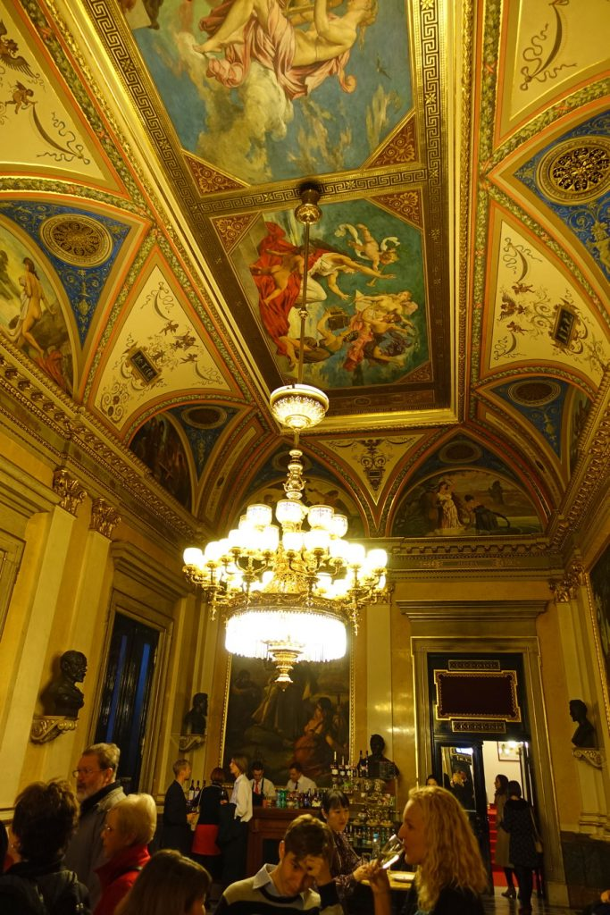Even the ceilings are magnificent.