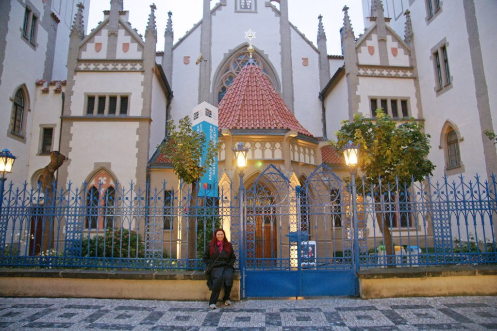 The Maisel Synagogue in Prague.