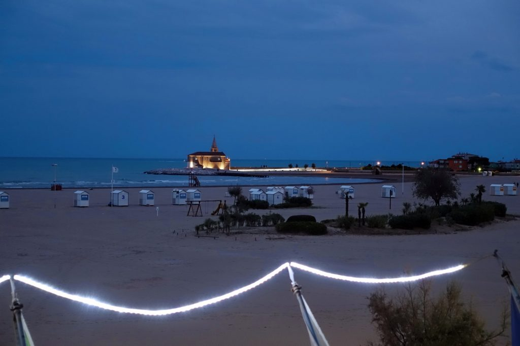Caorle at night.