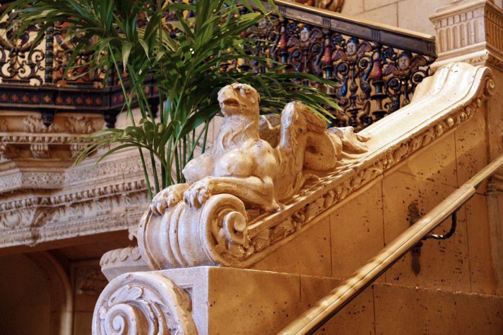 A Biltmore sphinx.