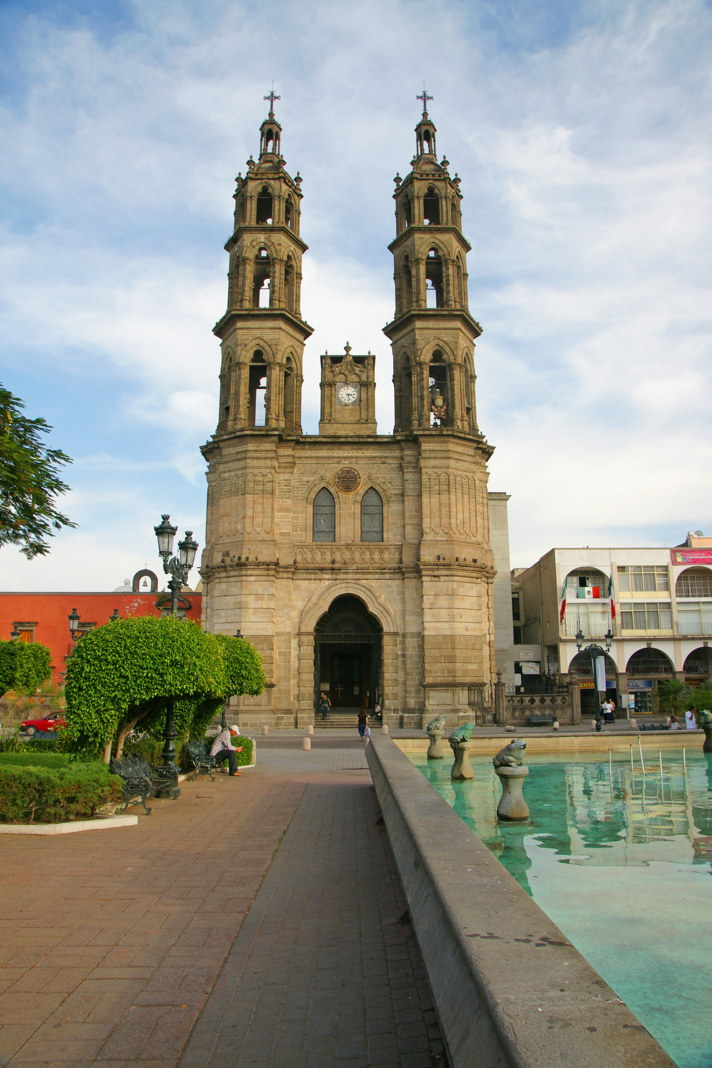 Catedral Basílica de la Inmaculada Concepción in Tepic, Mexico.
