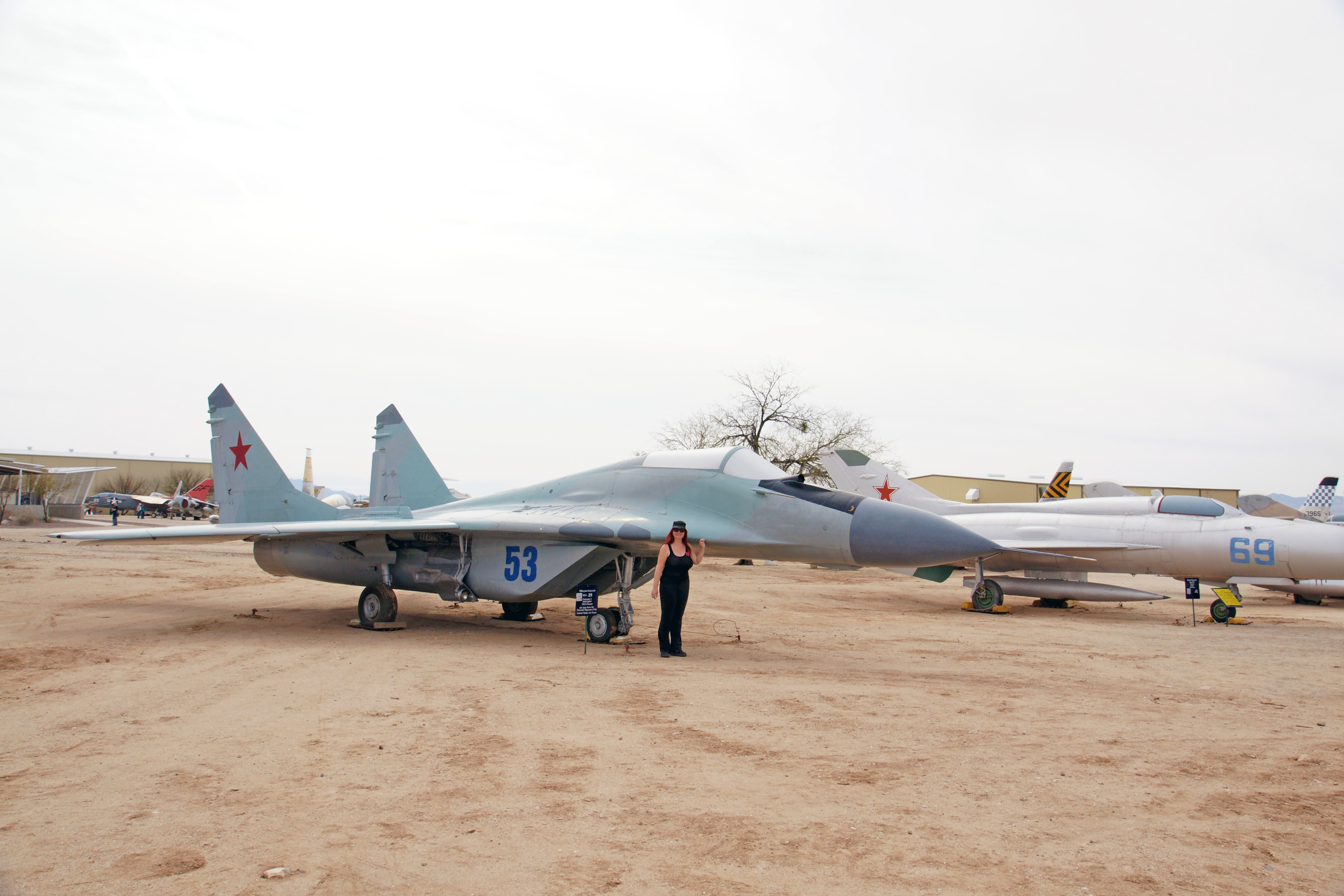 Mikoyan-Gurevich Mig-29 Fulcrum-A Front