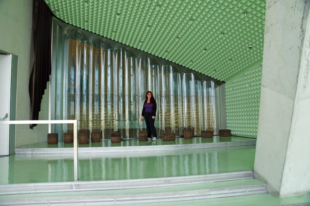 Casa da Música green room.