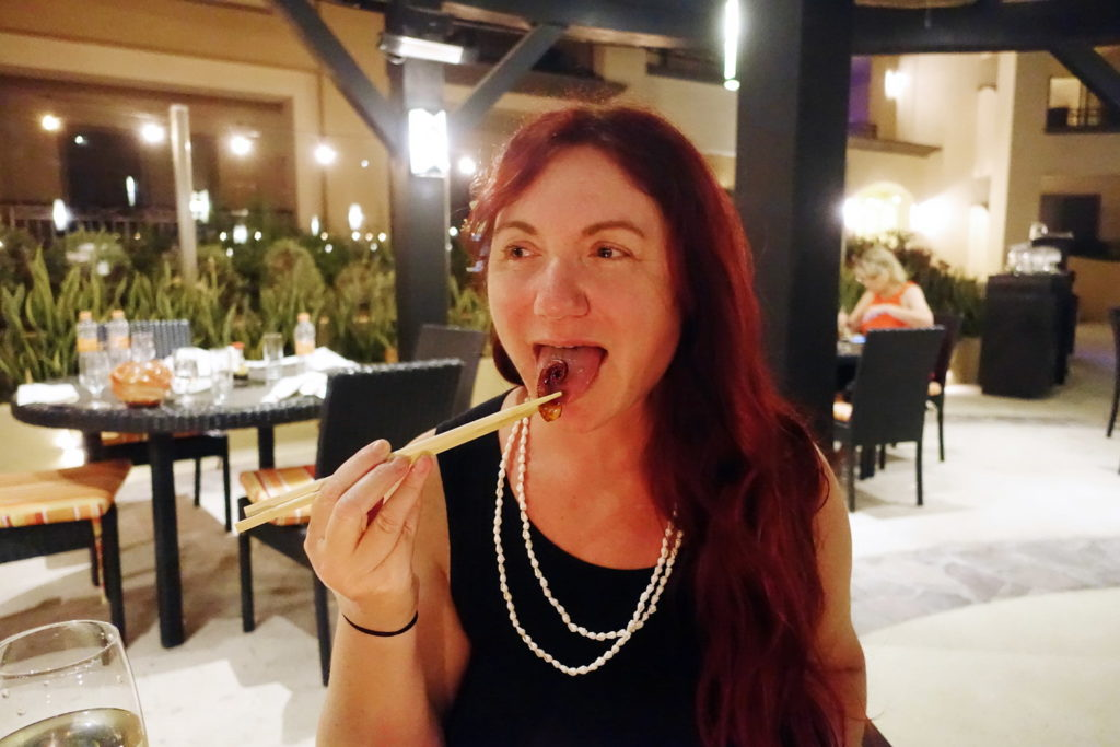 Mmmmm, sushi…