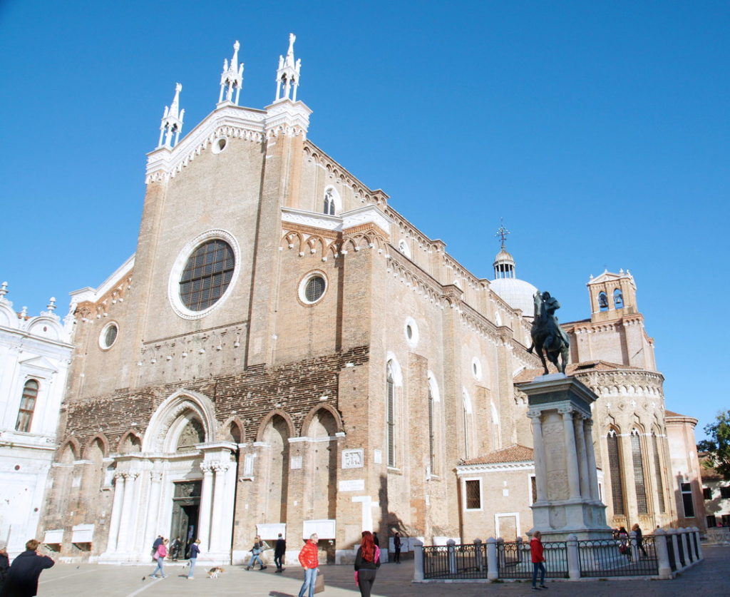 The Basilica di San Giovanni e Paolo, known in Venetian as San Zanipolo, is one of the largest churches in Venice.
