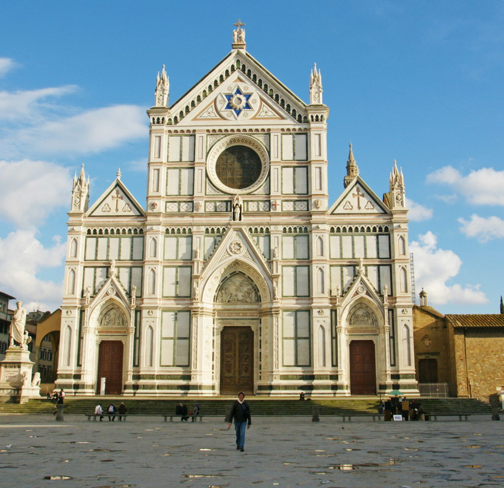 The Basilica di Santa Croce is the largest Franciscan church in the world.