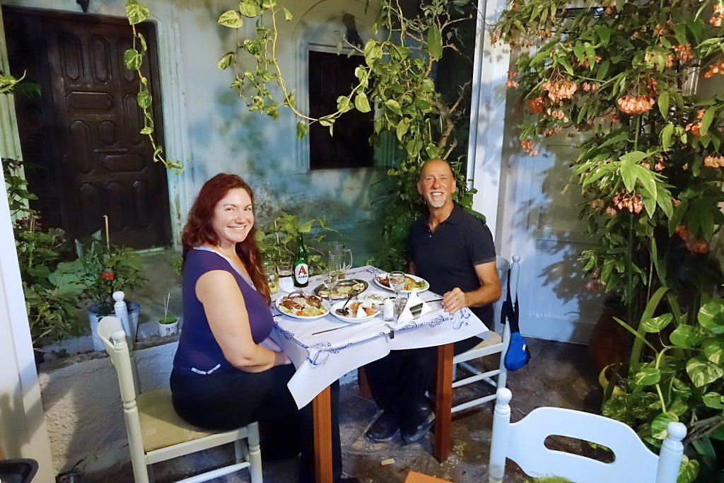 Dream Kitchen, our favorite restaurant on the island.