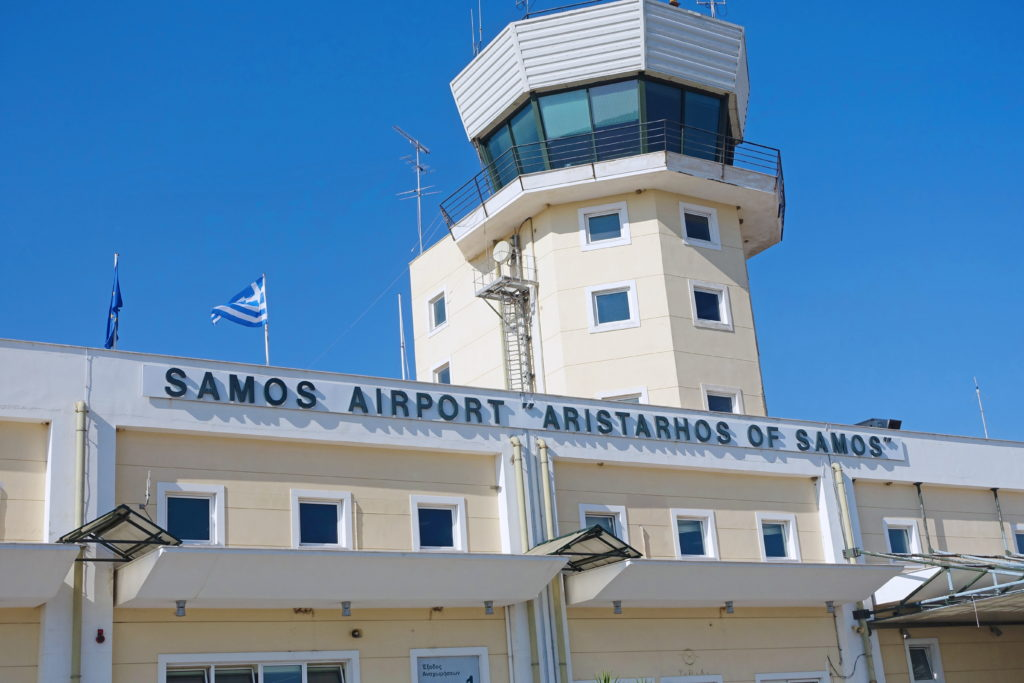 We are in Samos!