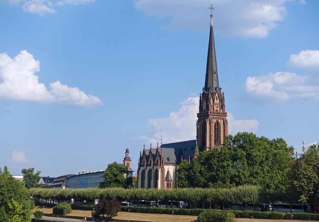 The Dreikönigskirche, Lutheran parish church.