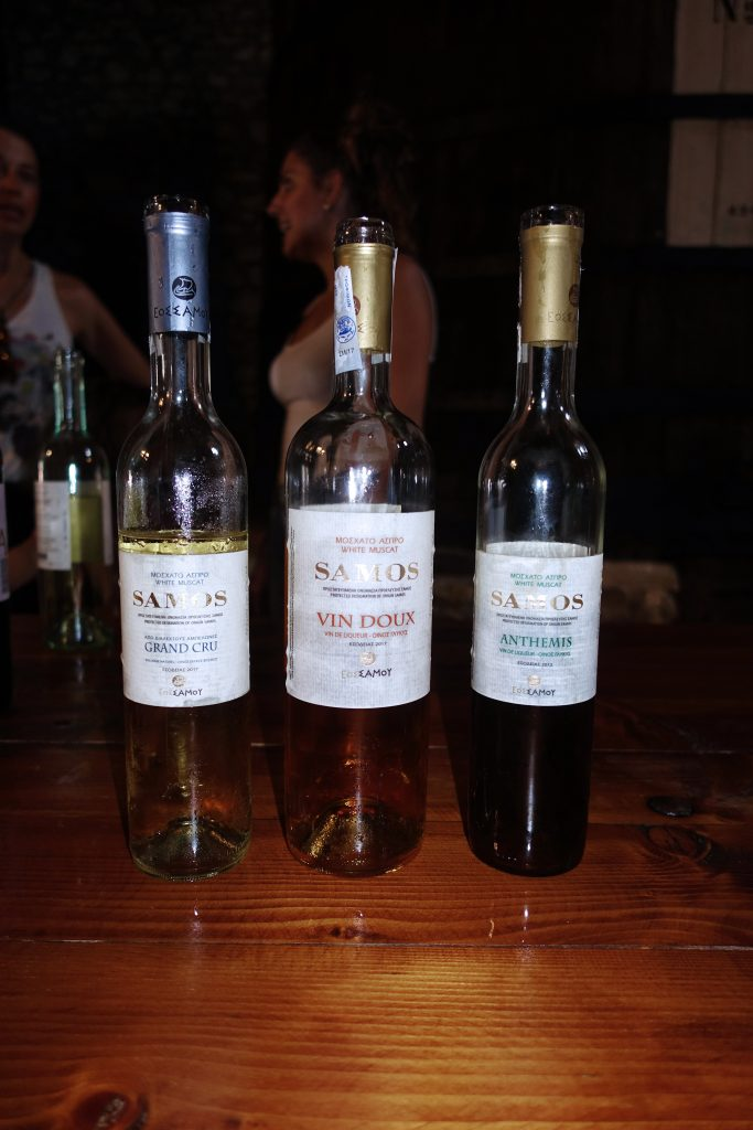 These wines are our favorites.  We took a photograph so we would remember.