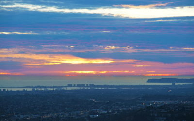 Mt. Helix Sunset