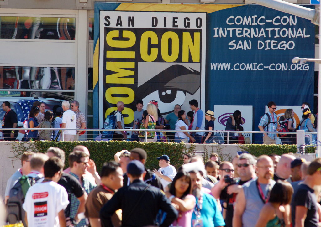 San Diego Comic Con - Keeping an eye on you.