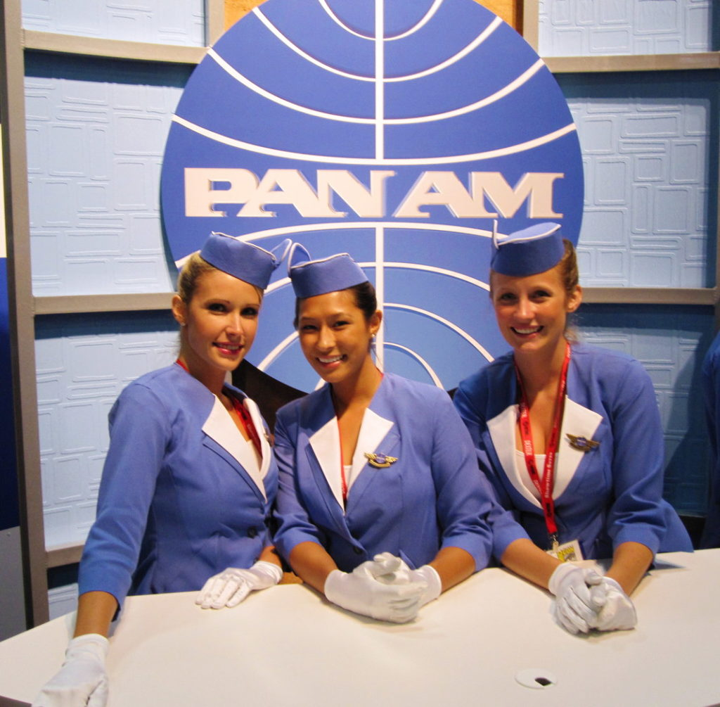 Pan Am, from the Golden Age of Travel.