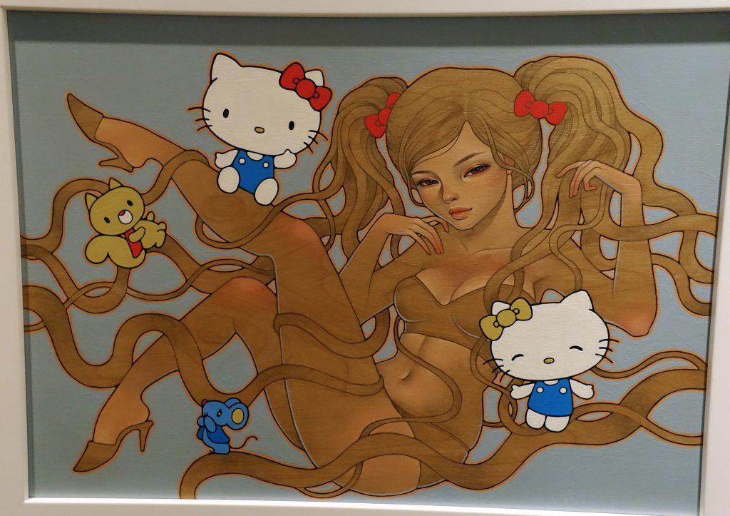 Tentacle porn?  Only Hello Kitty knows, and she ain't talkin'.