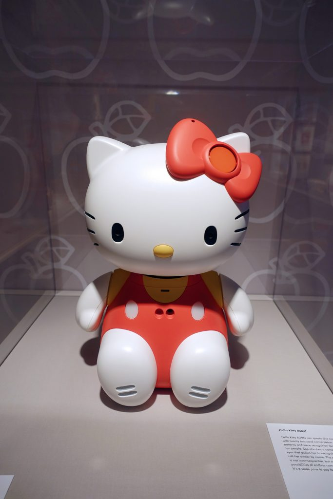 Hello Kitty robot was cool before Siri and Alexa were even a vague idea.