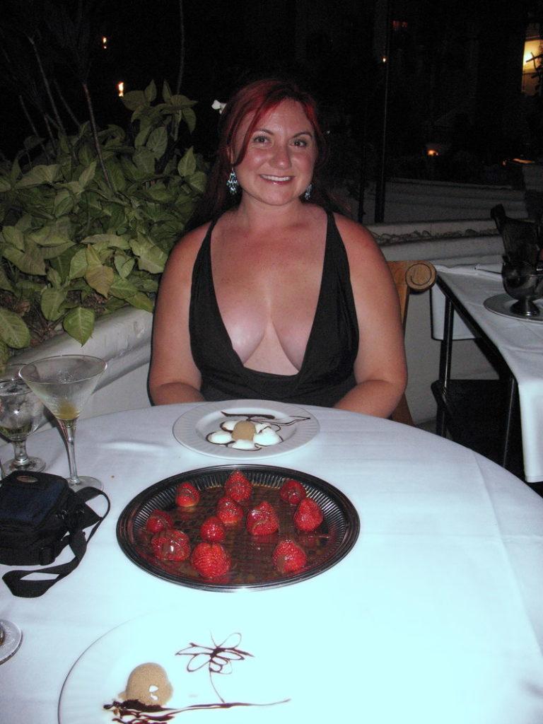 Dessert for dinner.