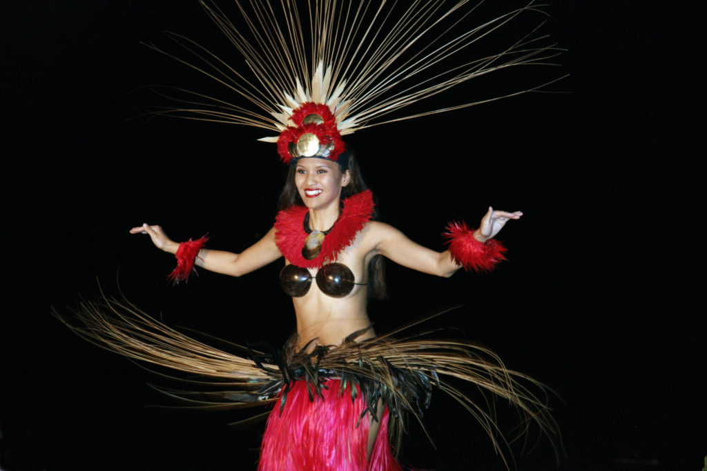 This performer is dancing one of the many types of Hula.