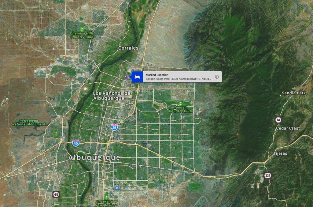 I knew I should've taken that left turn at Albuquerque!
