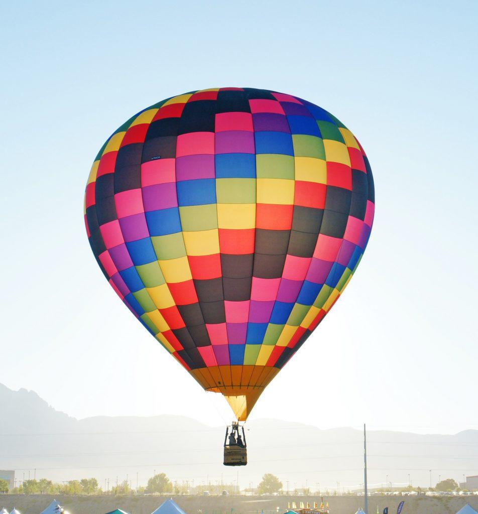 This balloon is giving me vertigo.