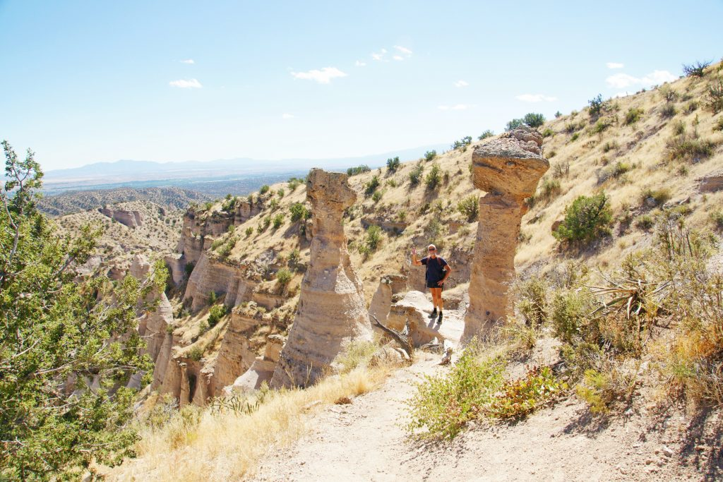 """Tent rocks are also called hoodoos. I like the name """"hoodoo"""" better…."""