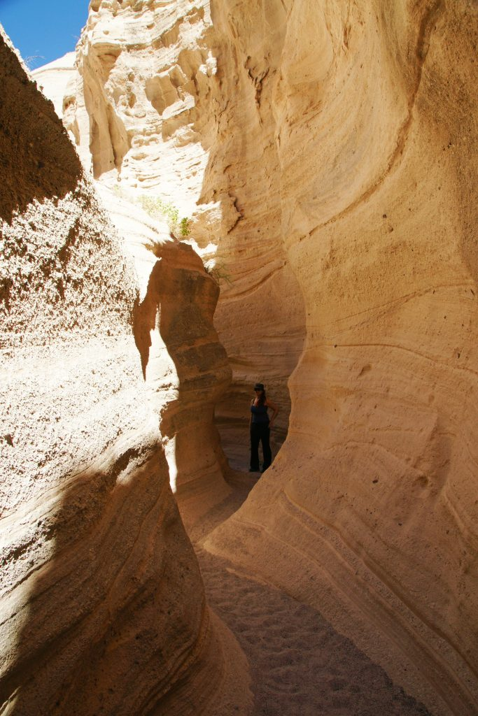 A hidden passage through the mountain!