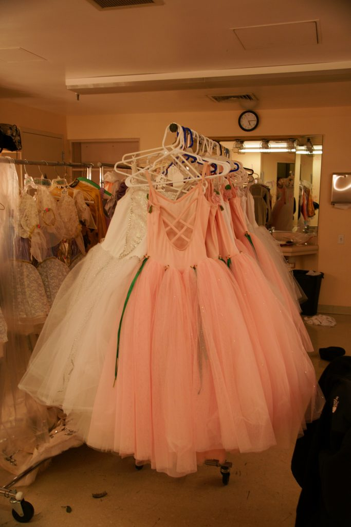 Dresses.  Lots and lots of dresses.