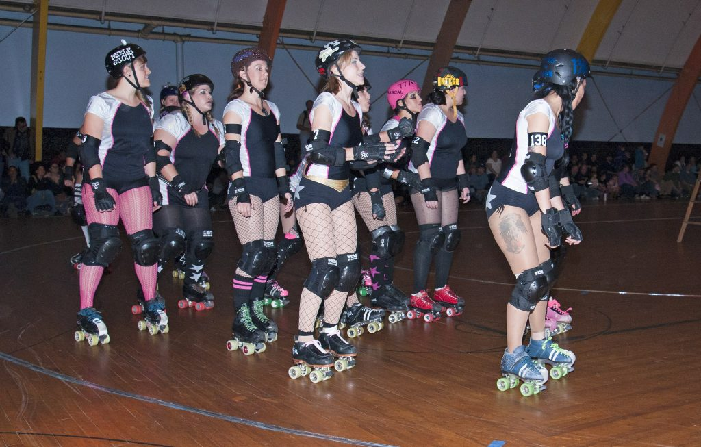 San Diego Roller Derby Starlettes are ready for action!