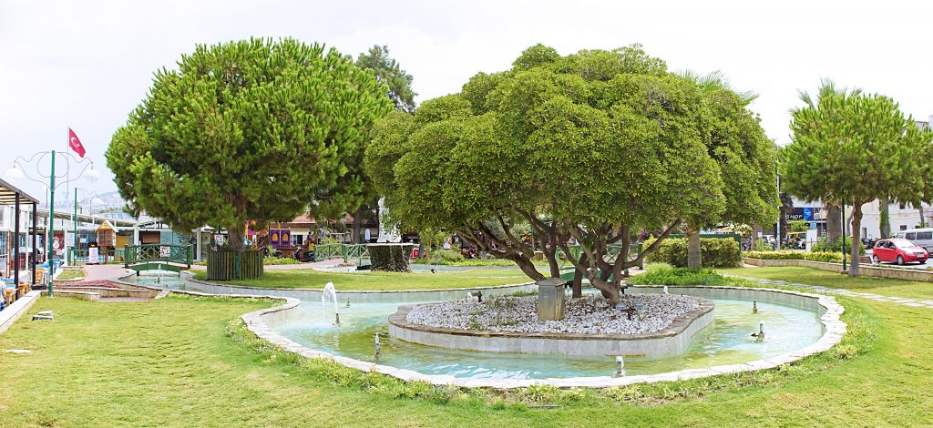 Bird Island Municipal Park Güvercinli in all its splendor.