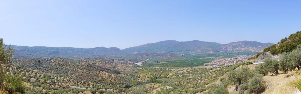 The countryside northeast of Kuşadası, not too distant from İzmir.