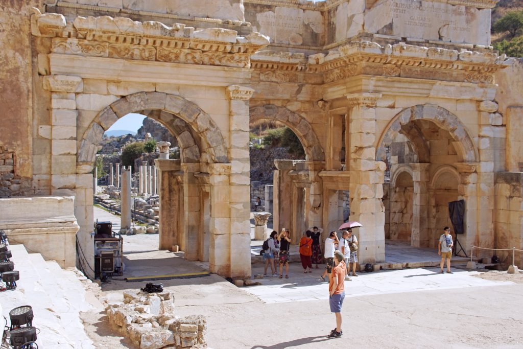 The Gate of Mazeus and Mithridates, displaying classic arch construction.
