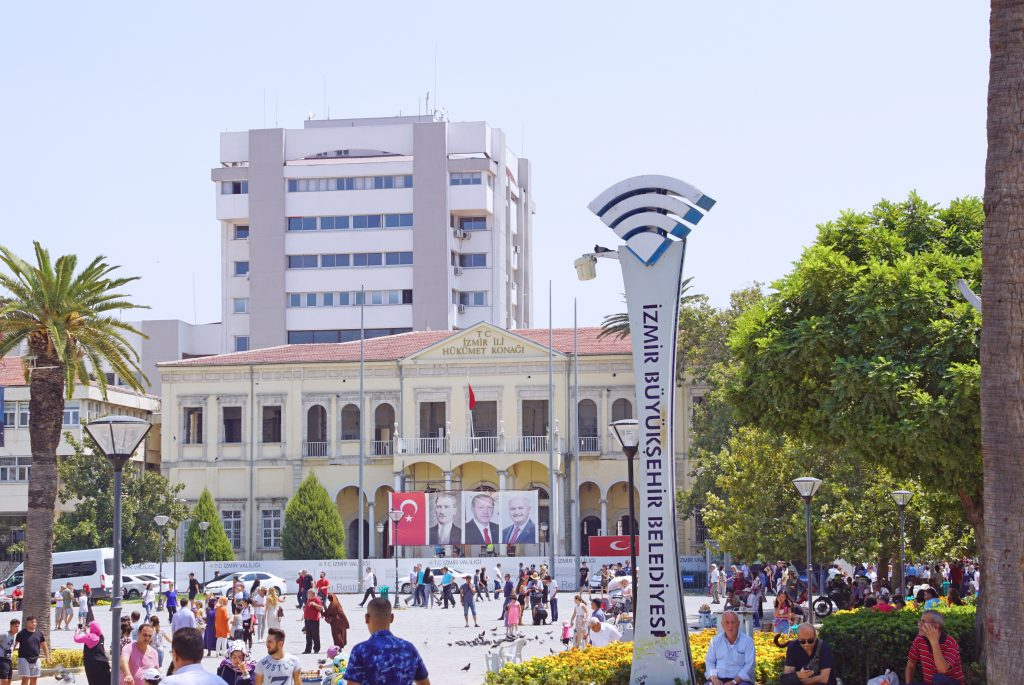 The not-so-famous Izmir government house.
