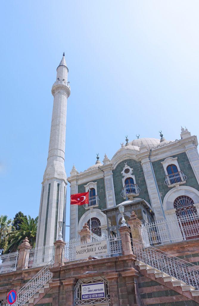 The famous Salepçioğlu Mosque, built in 1323.