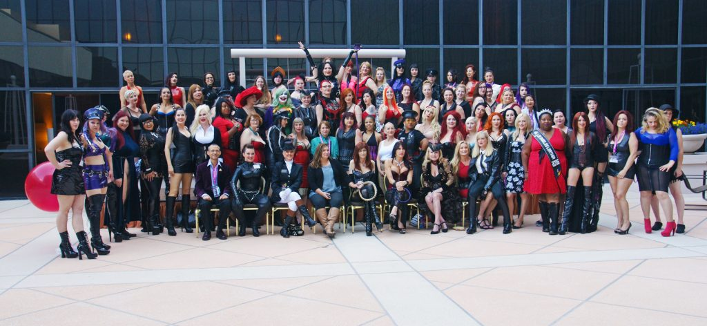 All the crazy, wonderful Mistresses of DomCon all in one place.